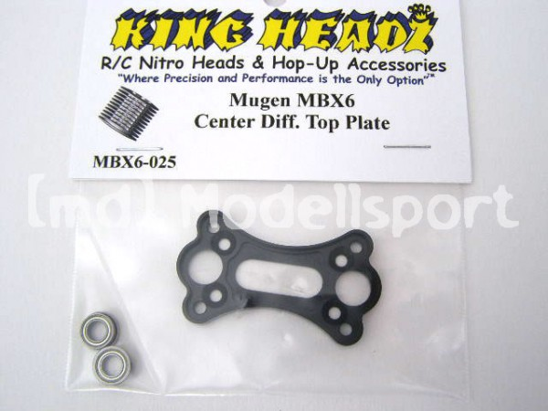 MBX-6T Center Diff. Top Plate