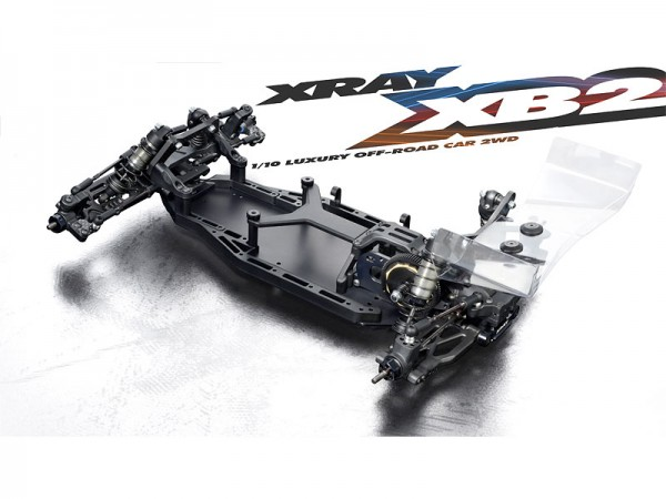 XRAY XB2 1:10 Offroad Buggy 2WD Kit Dirt