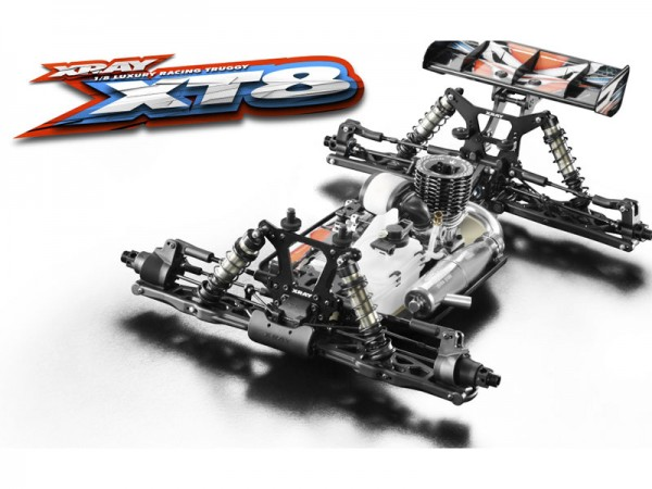 XRAY XT8 2017 Specs Truggy Kit