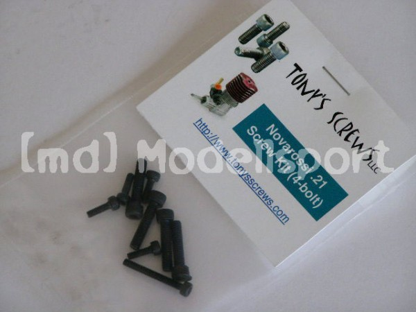 Tonys Screws Schrauben Kit Novarossi .21 Engine